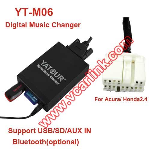 YT-M06-HON2: Yatour Car Audio MP3 Decoder For Acura