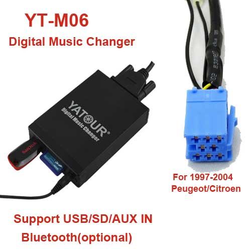 Prime Yt M06 Rd3 Yatour Radio Music Interfaces For 97 04 Peugeot Citroen Wiring 101 Archstreekradiomeanderfmnl