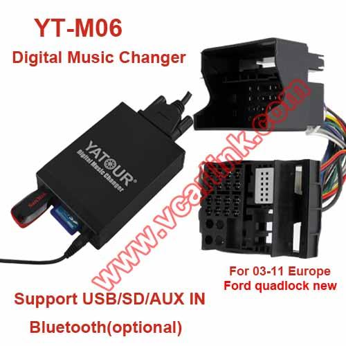 yt m06 frd2 yatour yt m06 car music kit for 03 11 europe. Black Bedroom Furniture Sets. Home Design Ideas